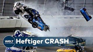 DAYTONA 500: Horror-Crash überschattet Nascar-Klassiker
