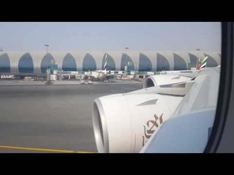 Emirates Airline Dubai to London - Heathrow