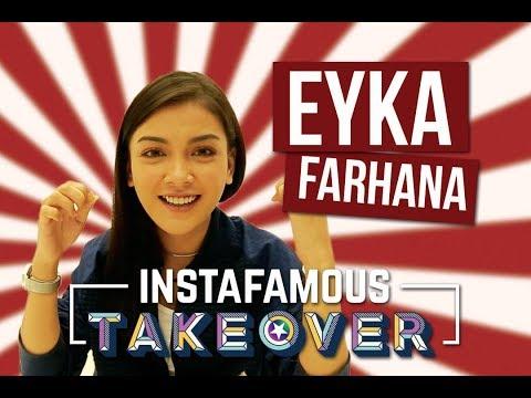 Instafamous Takeover x Eyka Farhana   Challenge Makan Dan Makan Dan Makan Je