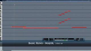 Orchestral String Runs - 1st Impressions