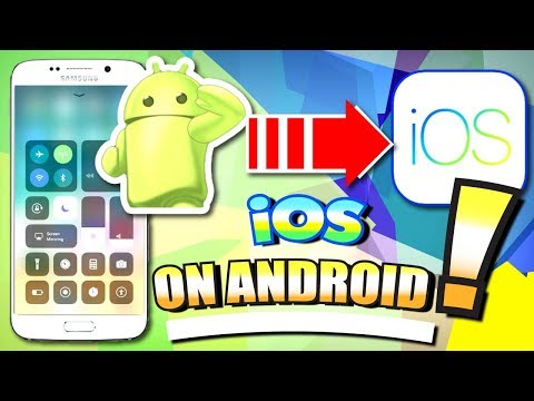 Get IOS On ANDROID Phone And Tablet (NO ROOT) - 2017 (iOS 11 On Android MIMIC) Apk / App