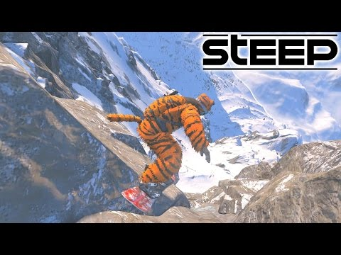 HUGE CLIFF JUMPS! - STEEP GAMEPLAY