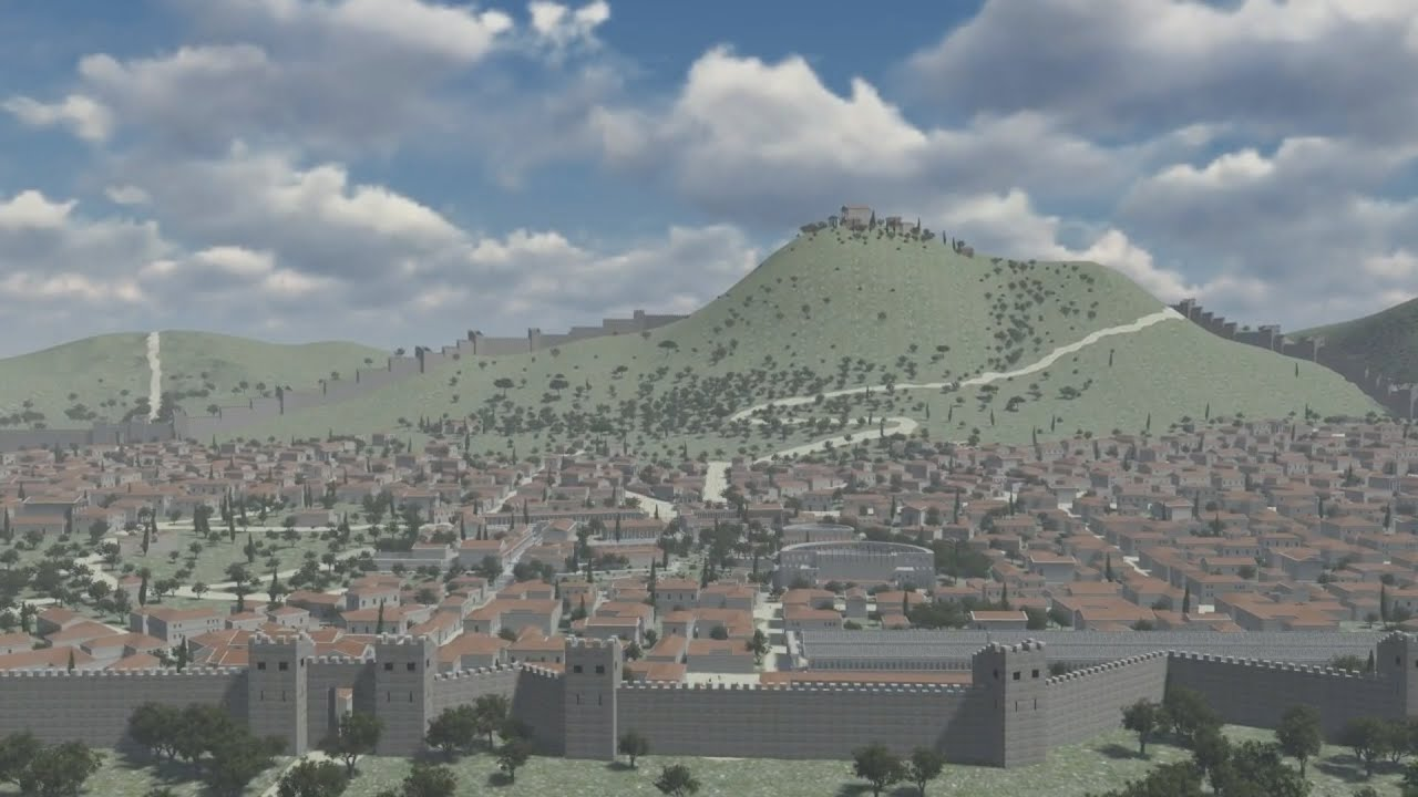 ancient corinth youtube