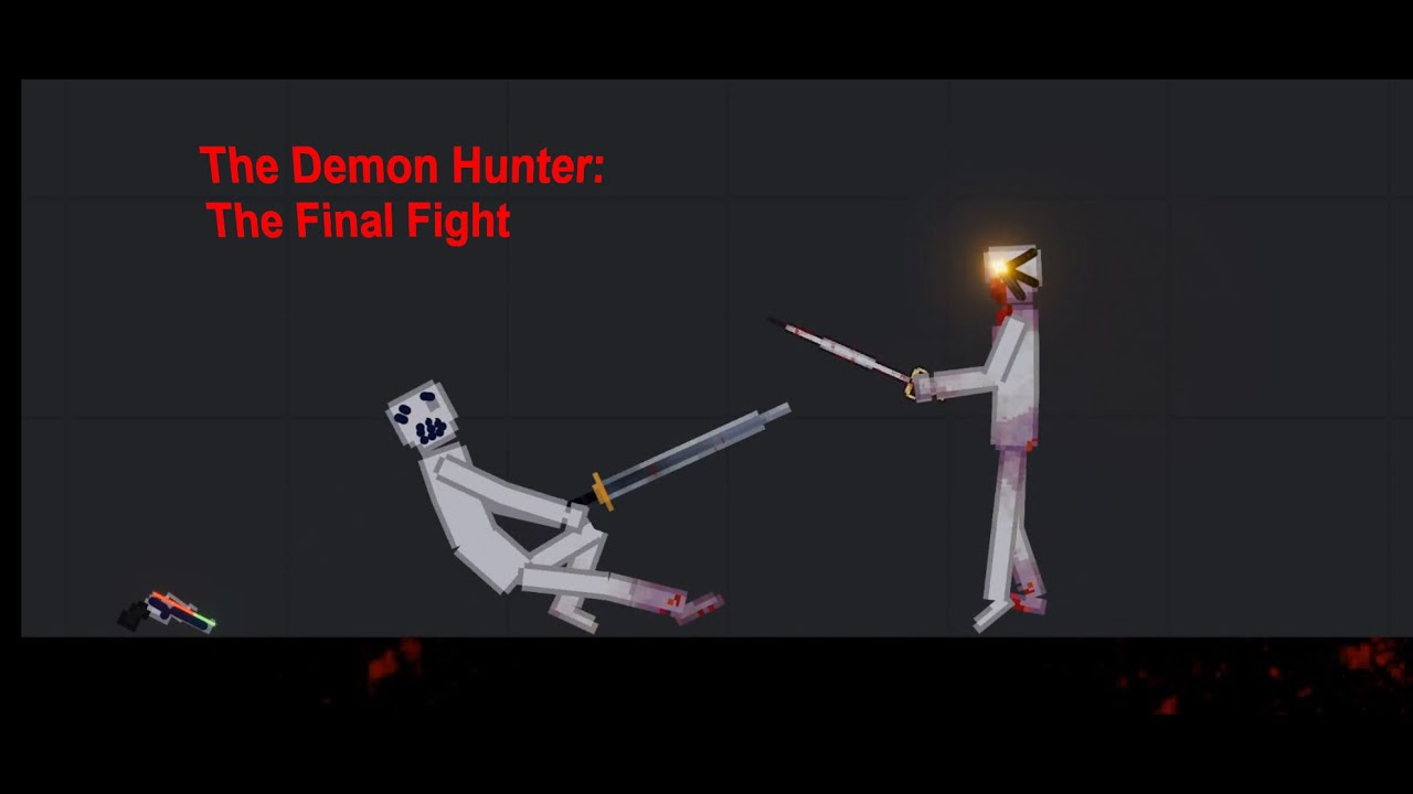 Download The Demon Hunter: The Final Fight In People Playground
