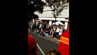 Skegness carnival parade 2015