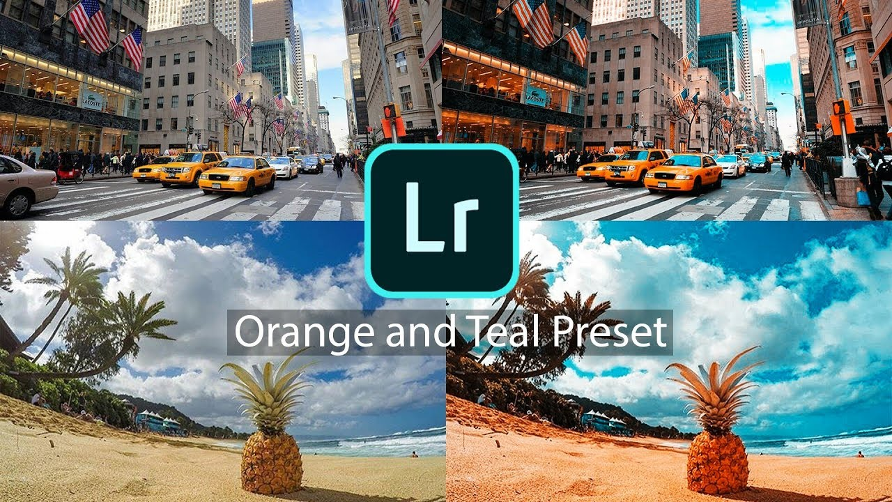 Free Orange and Teal Preset for Lightroom Mobile