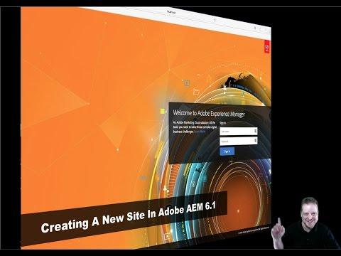 Adobe AEM 6.1 - Creating A Website From Scratch
