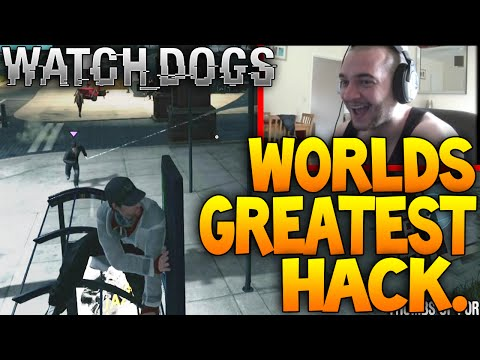 The BEST Watch Dogs Hack EVER. Hacked From On A BUS STOP! Watchdogs Live Hacking Gameplay
