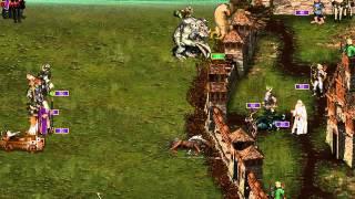 Heroes of Might and Magic     Mythology Mod   Saruman vs Galadriel