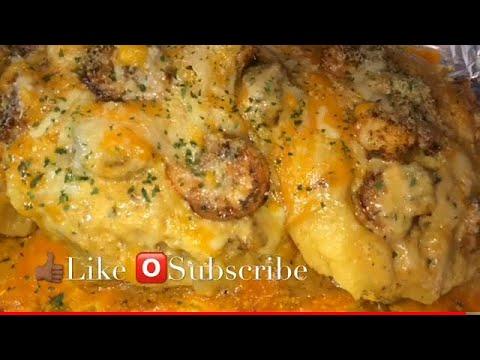 LOADED Shrimp Bake Potato | How To Make Loaded Potato | Cheesy Loaded Shrimp Potatoes | Bake Potato
