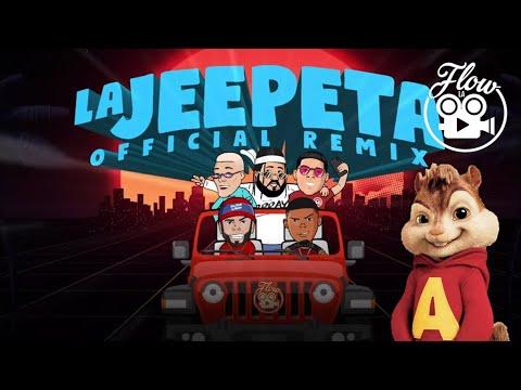Alvin y las Ardillas – La Jeepeta Remix (Nio Garcia x Brray x Juanka x Anuel AA x Myke Towers)