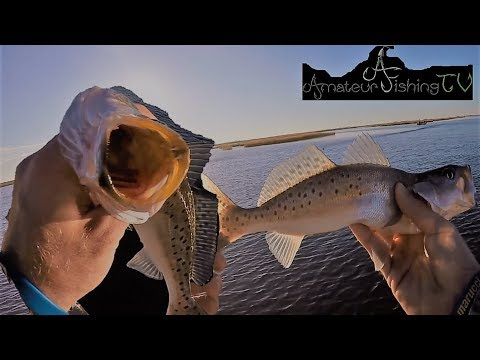 South Louisiana Trout Fishing!! (Pointe Aux Chenes)