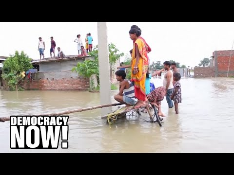 """Fossil Fuel Stooges"" Pence & Trump Deny Climate Crisis As Deadly Rains Slam Louisiana & South Asia"