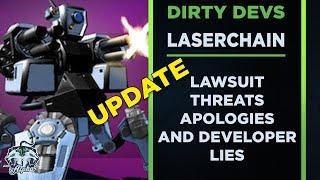 Dirty Devs Lazerchain Update: Lawsuit Threats Apologies And Developer Lies