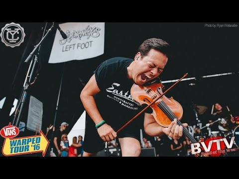 "Yellowcard - ""Lights And Sounds"" LIVE! @ Warped Tour 2016"