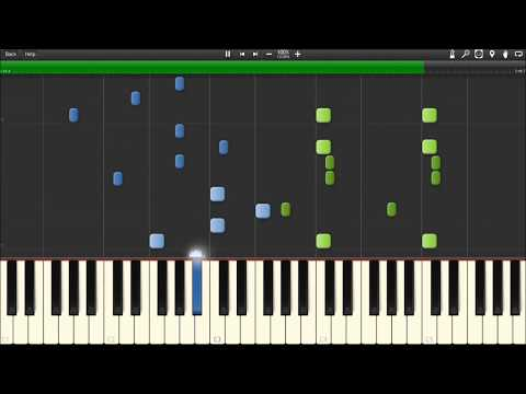 Axwell /\ Ingrosso - More Than You Know [Piano Tutorial] Synthesia (Sheet Music)