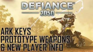 DEFIANCE 2050: New Player Guide to Unlocking a Prototype Weapon, Ark Keys & More