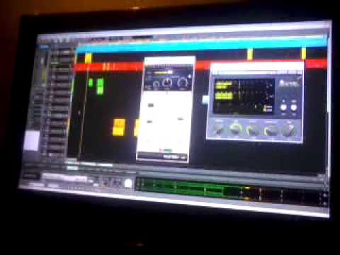 STUDIO MIXDOWN SESSION - I MARK - MENACE TO SOCIETY STUDIO PREVIEW