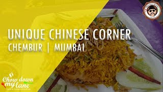 MUMBAI || Unique Chinese Corner - Chinese with a Difference || Chembur