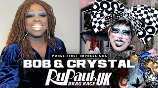 Bob The Drag Queen & Crystal Methyd | Purse First Impressions | RPDRUK S2E3