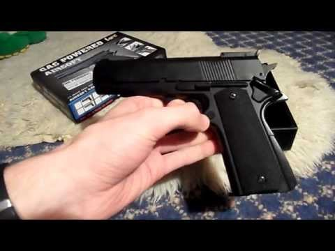 HFC HG123 M1911 gas airsoft pistol