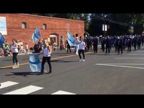 Naches Valley High School band closes out Sportsman's Day parade