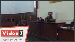 بالفيديو.. النيابة تطالب المحكمة بتوجيه تهمة الشهادة الزور لشاهد فى