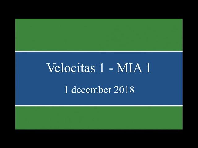 Doelpunten Velocitas in Velocitas 1 - MIA 1