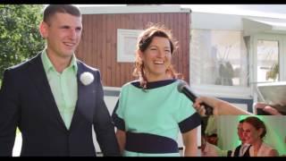 Смешное Интервью на свадьбе! Яна + Игорь [Emri Studio]