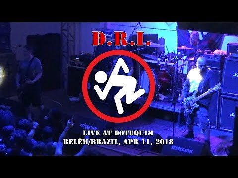 D.R.I. - Soup Kitchen/ Violent Pacification (Live in Belém/Brazil, Apr 11, 2018) HD