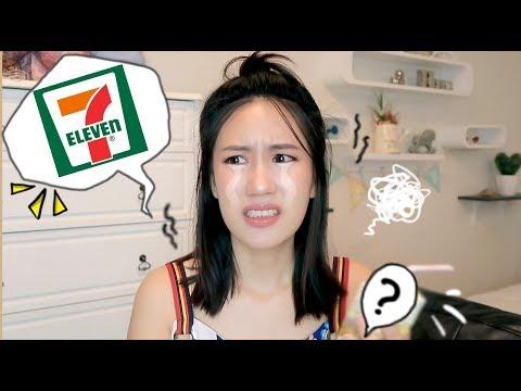 เมอาพากิน ♡ ลองชิมของแปลกใน 7-11   MayyR