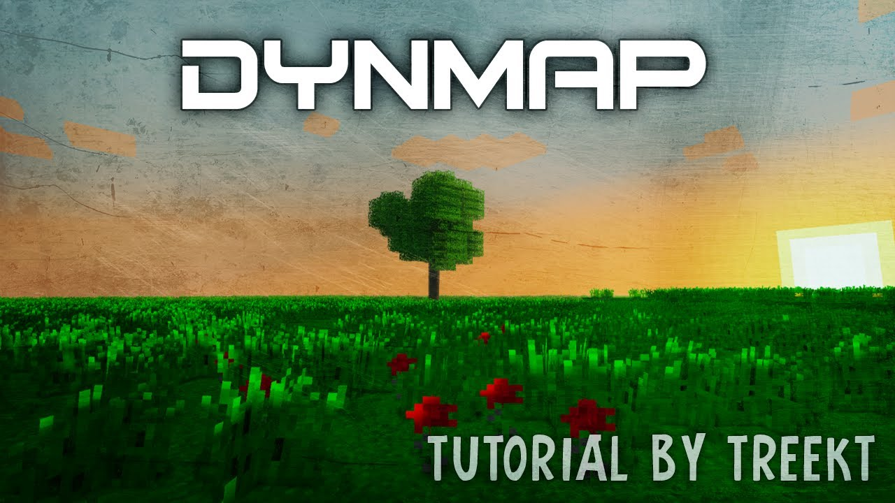 Jak wgrać i używać plugin DynMap na serwerze Minecraft (Bukkit)