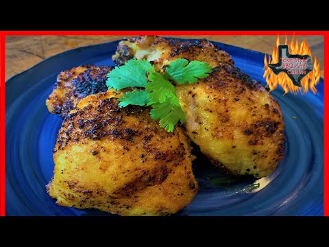 magic-chef-air-fryer-chicken-thighs-|-air-fryer-recipes-|-texas-style-cuisine-low-carb-diet