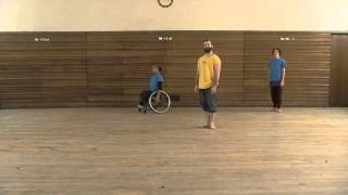 Stopgap Dance company Replay (inclusive dance class for disabled people) Strengthening and Balance