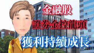 股票 金融股 證劵金控龍頭 獲利持續成長!?# 40 JY說股市