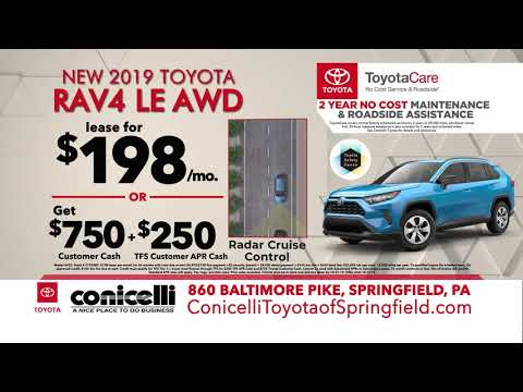 Toyotacare Roadside Assistance Number >> 174 Mo Camry 198 Mo Rav4 All Wheel Drive At Conicelli