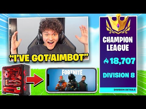I Switched from PC to Mobile for 24 Hours (Fortnite Challenge)