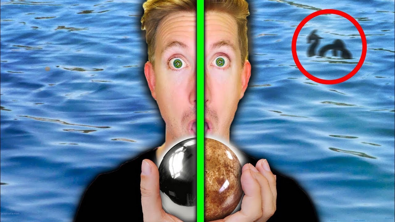 Download MONSTER IN POND FOUND with MIRROR POLISHED JAPANESE FOIL BALL vs SHINY DIRT BALL (EGGS)