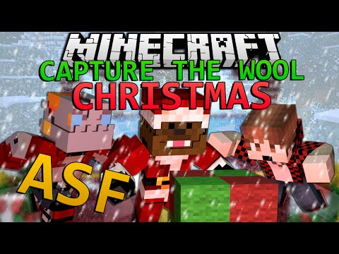 Minecraft WINTER Capture The Wool w/ Team ASF!