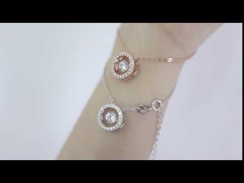 round dancing. bracelet