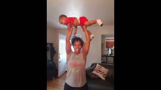 Rihanna B*$ch better have my money freestyle mommy workout