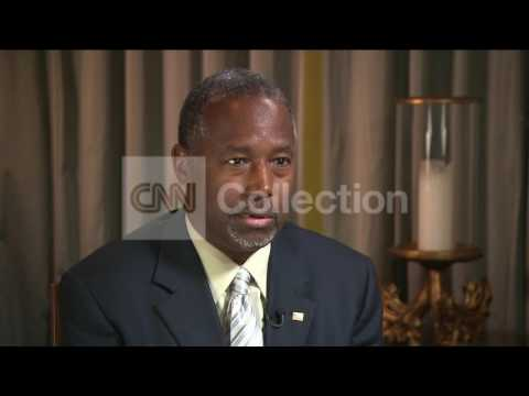 BEN CARSON-MUSLIM PRES WOULD NEED TO REJECT ISLAM