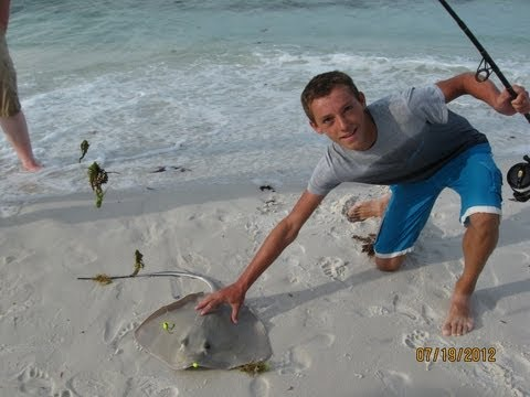 Destin Florida Beach Fishing