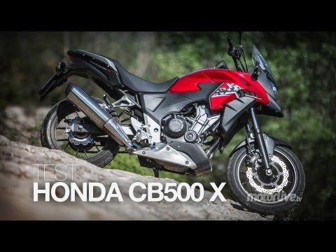 TEST EXCLUSIF   HONDA CB 500 X