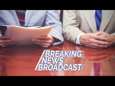 Breaking News Broadcast