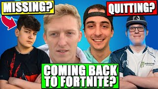 Chap QUITTING Cuz Epic? Tfue & Cloakzy RETURN To Fortnite? Clix MISSING FNCS? Console & Mobile BFC!