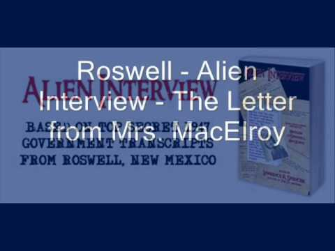 Roswell Alien Interview - Area 51 Full transcript of Airl with notes by pbatusa.