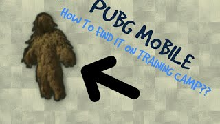 How to find Miramar Ghillie Suit in training camp -PUBG Mobile-