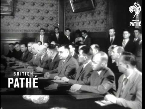 Talks Between The Ussr & Federal German Republic (1957)