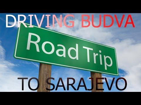 Driving Budva, Montenegro to Bosnia